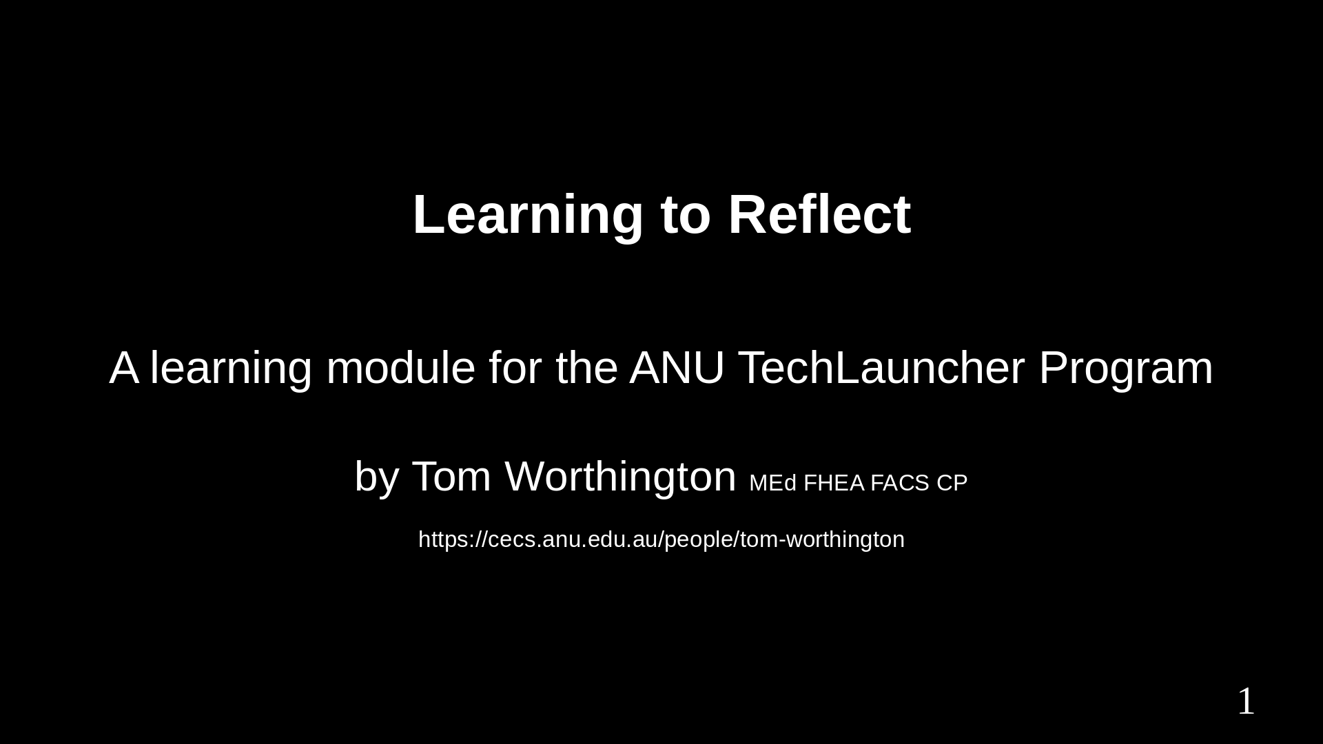 Learning To Reflect Video
